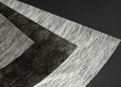 Colback nonwoven fabrics color options black white grey