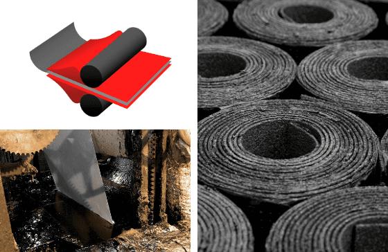 Impregnation Colback Bitumen Membranes